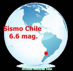 TERREMOTO 6,6 SACUDE EL CENTRO DE CHILE, 23 DE AGOSTO 2014