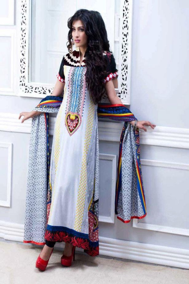 Incredible Pakistani Lawn Dresses Designs 2013 615 x 920 · 89 kB · jpeg