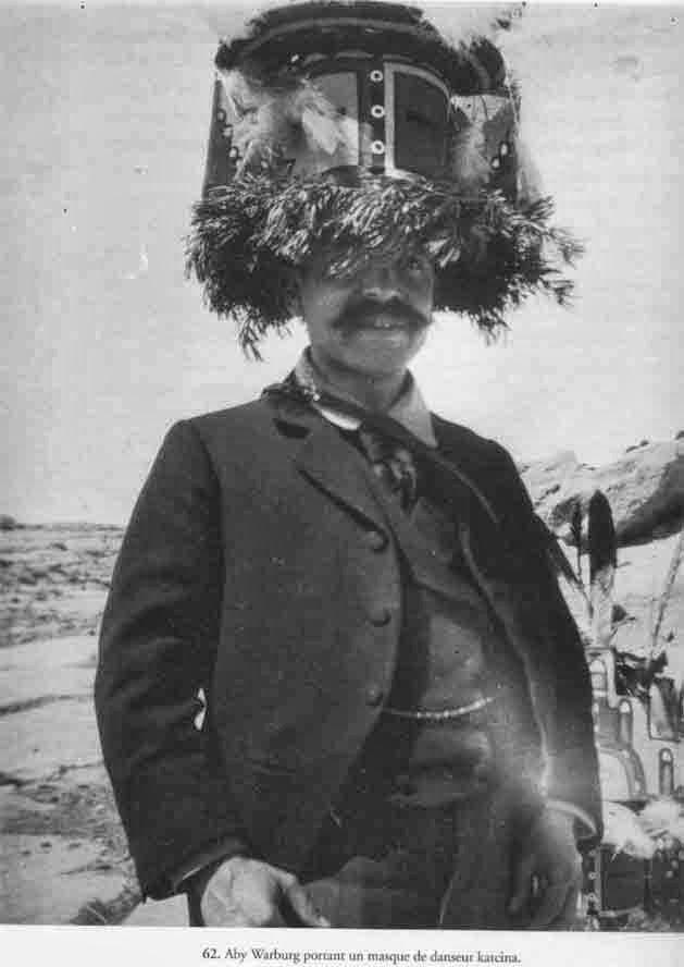 Aby Warburg, Mëxico, 1896.