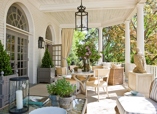 Mix And Chic Beautiful Porches And Terraces