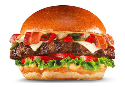 hardees 1 3 lb bacon cheese thickburger