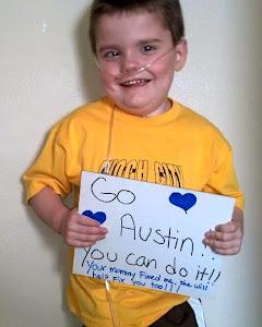 Corbin Says Go Austin!!!