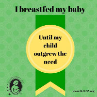 I'm a breastfeeding mom