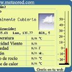 スペイン製天気予報ブログパーツ