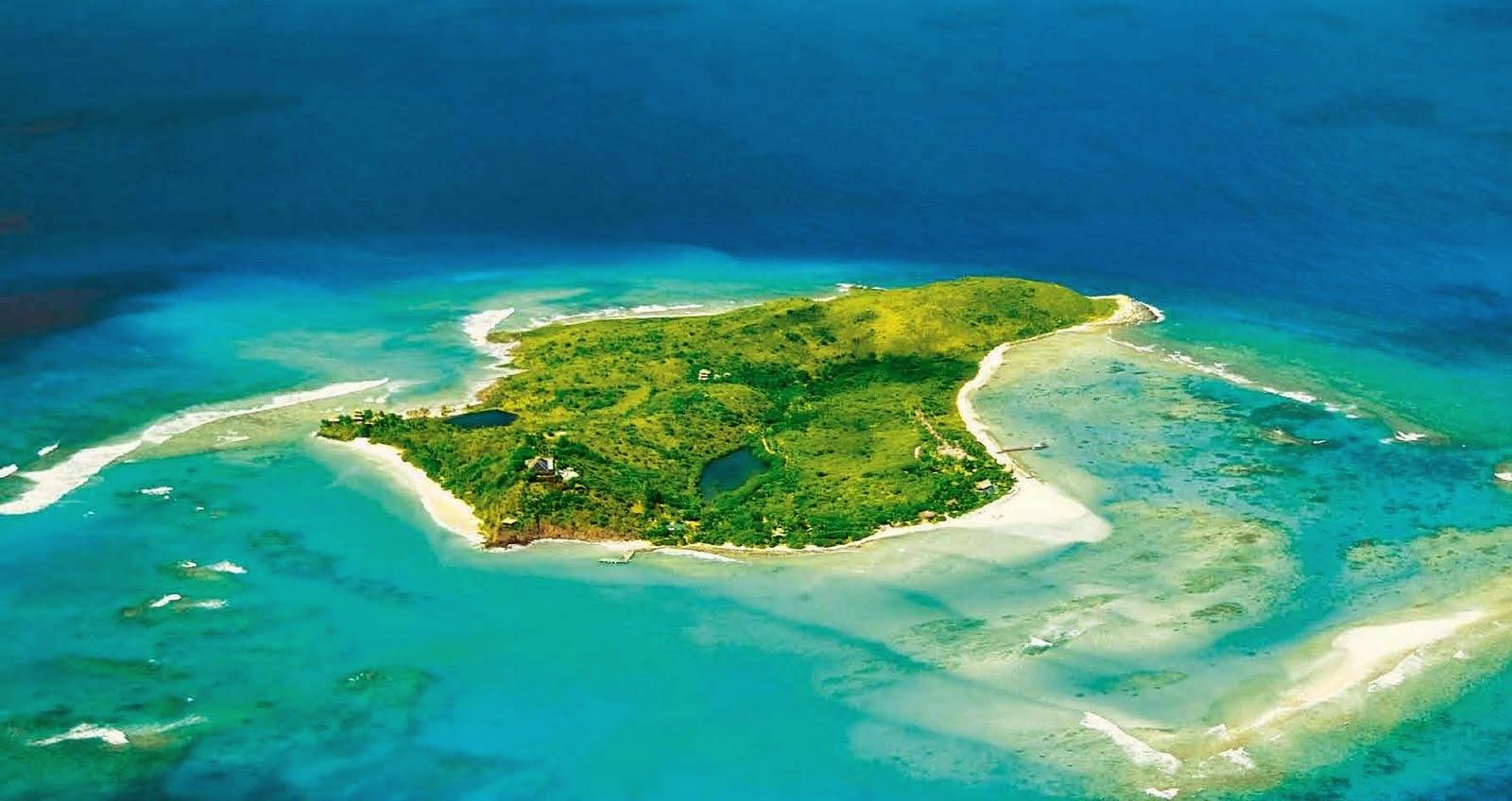 Necker Island, British Virgin Islands In Caribbean