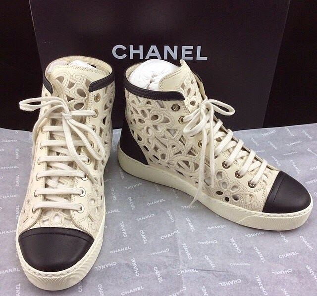 Chanel Sneakers Saks Chanel Sneakers Cut Out