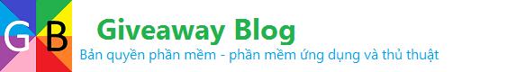 Giveaway Blog