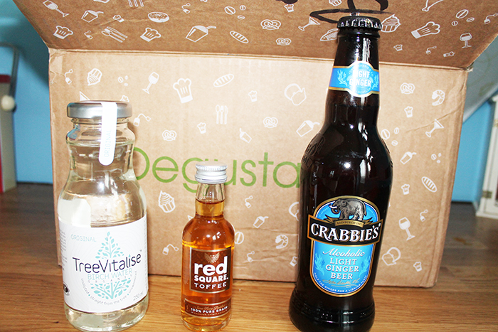 December's Degustabox - Healthy New Year