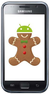 Samsung Galaxy with Gingerbread