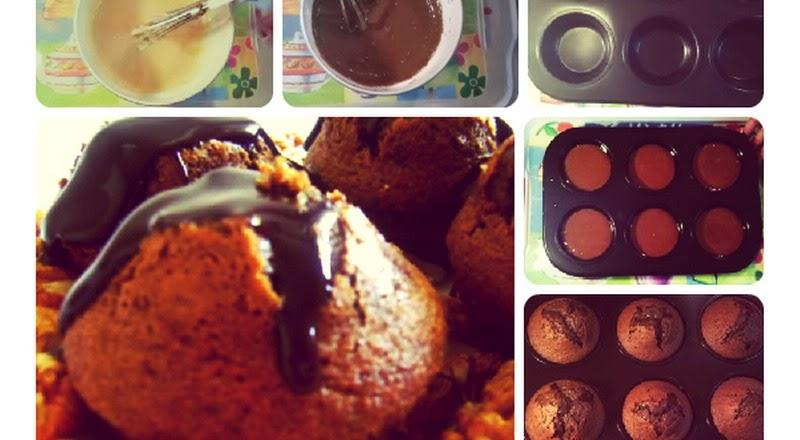 Resep Chocolat Noix Cupcakes