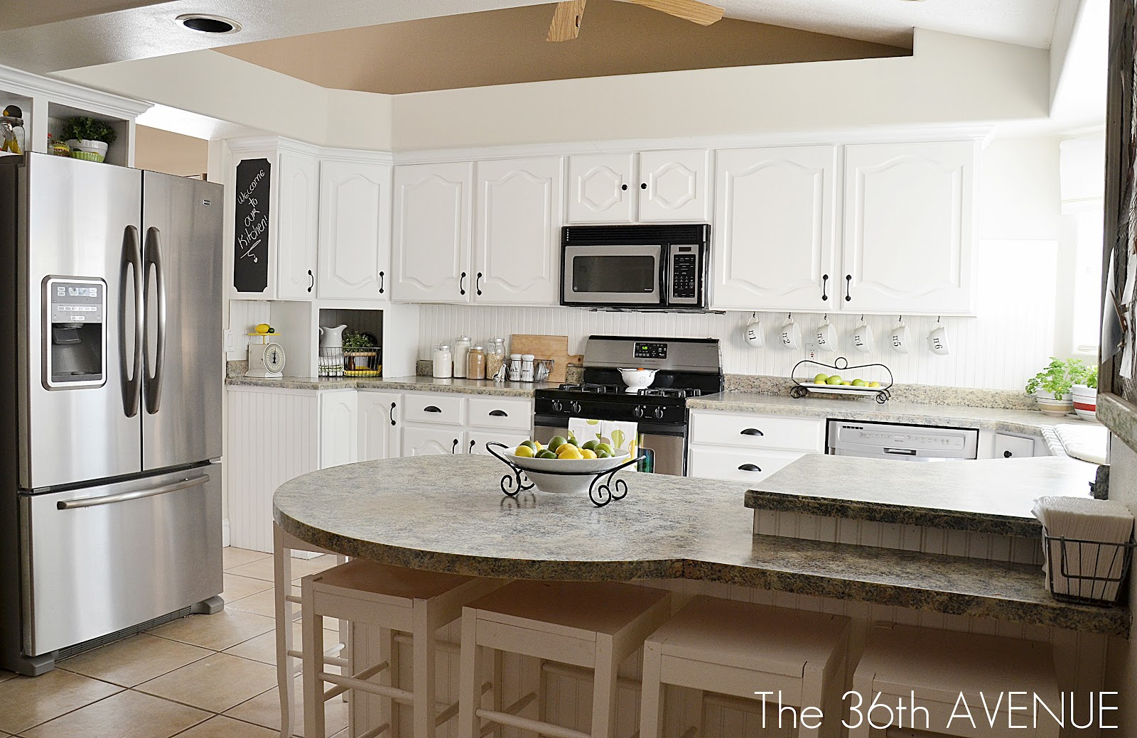 Our White Kitchen Reveal - The 36th AVENUE