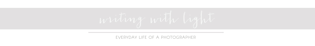 writing with light :: everyday life of a photographer