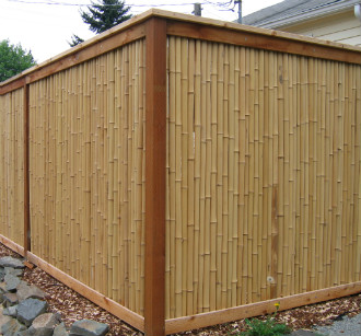 Bamboo Privacy Fencing3