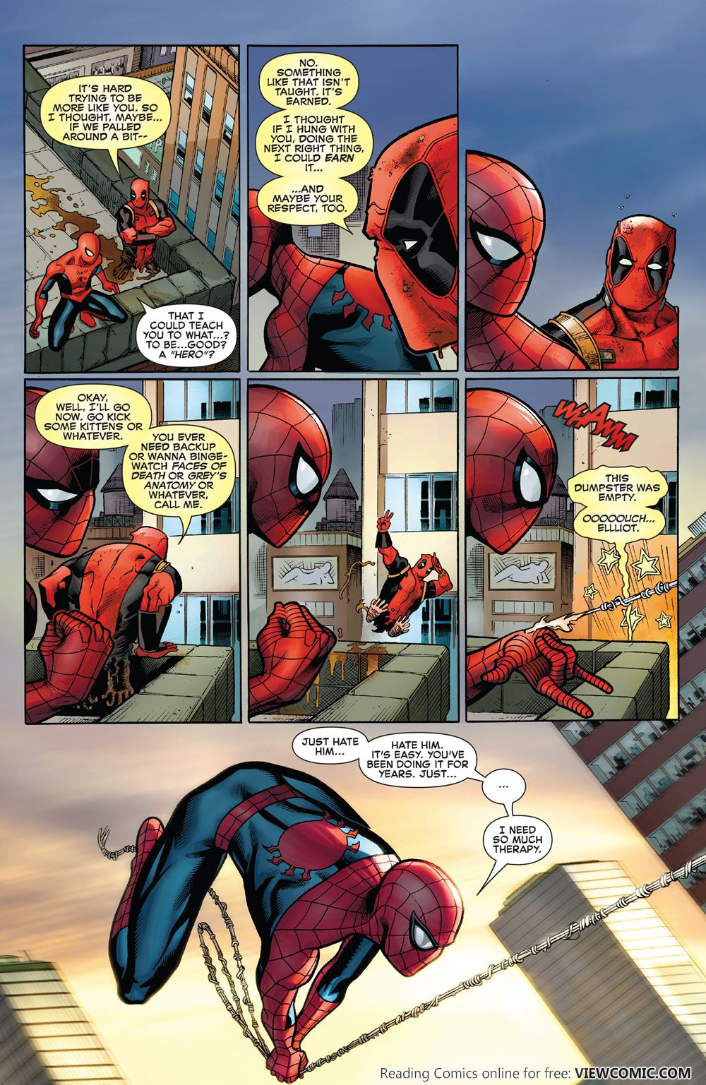 Смотреть мультик дэдпул человек паук