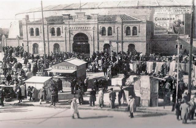 Plaza de Toros de Tetuán de las victorias, 1930 Madrid