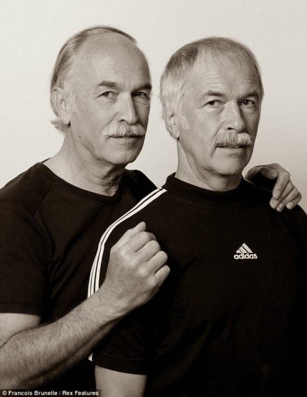 twins portraits