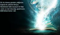 62- Biz hiç kimseyi gücünün yettiğinden başkası ile yükümlü kılmayız. Nezdimizde hakkı söyleyen bir kitap vardır ve onlar haksızlığa uğratılmazlar. [Mü'minun Suresi - 62]