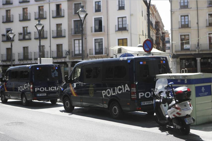 Valladolid se Blinda y refuerza su Seguridad.