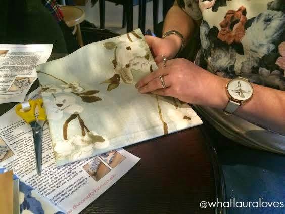 3D Birds and Book Binding using Hillarys new fabric