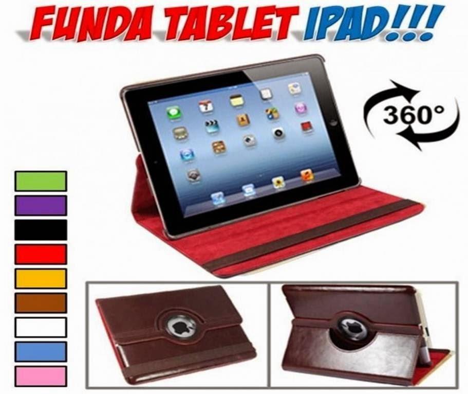 Fundas soporte giratorio iPad 2, 3, 4