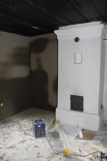 lerklining och värmefläktar