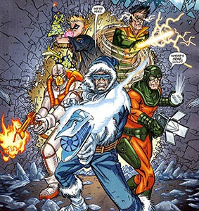 Cold Heatwave Trickster Mirror Master Weather Wizard