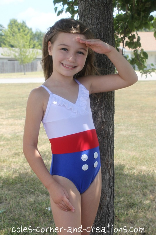 Sewing+swimsuits+for+little+girls+retro+pin+up+bathing+suit+lycra ...