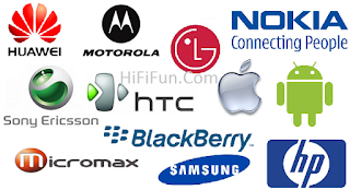 Mobile Phone Companies Logo