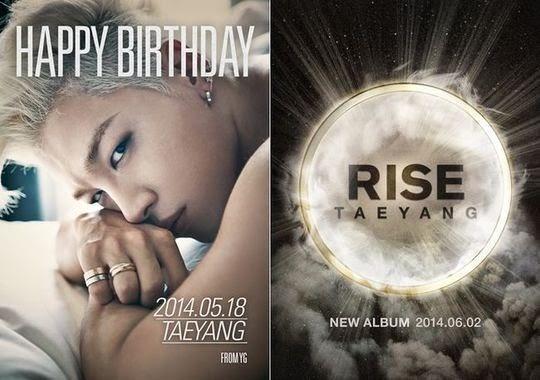 """Taeyang de Big Bang anuncia su nuevo álbum """"Rise"""""""