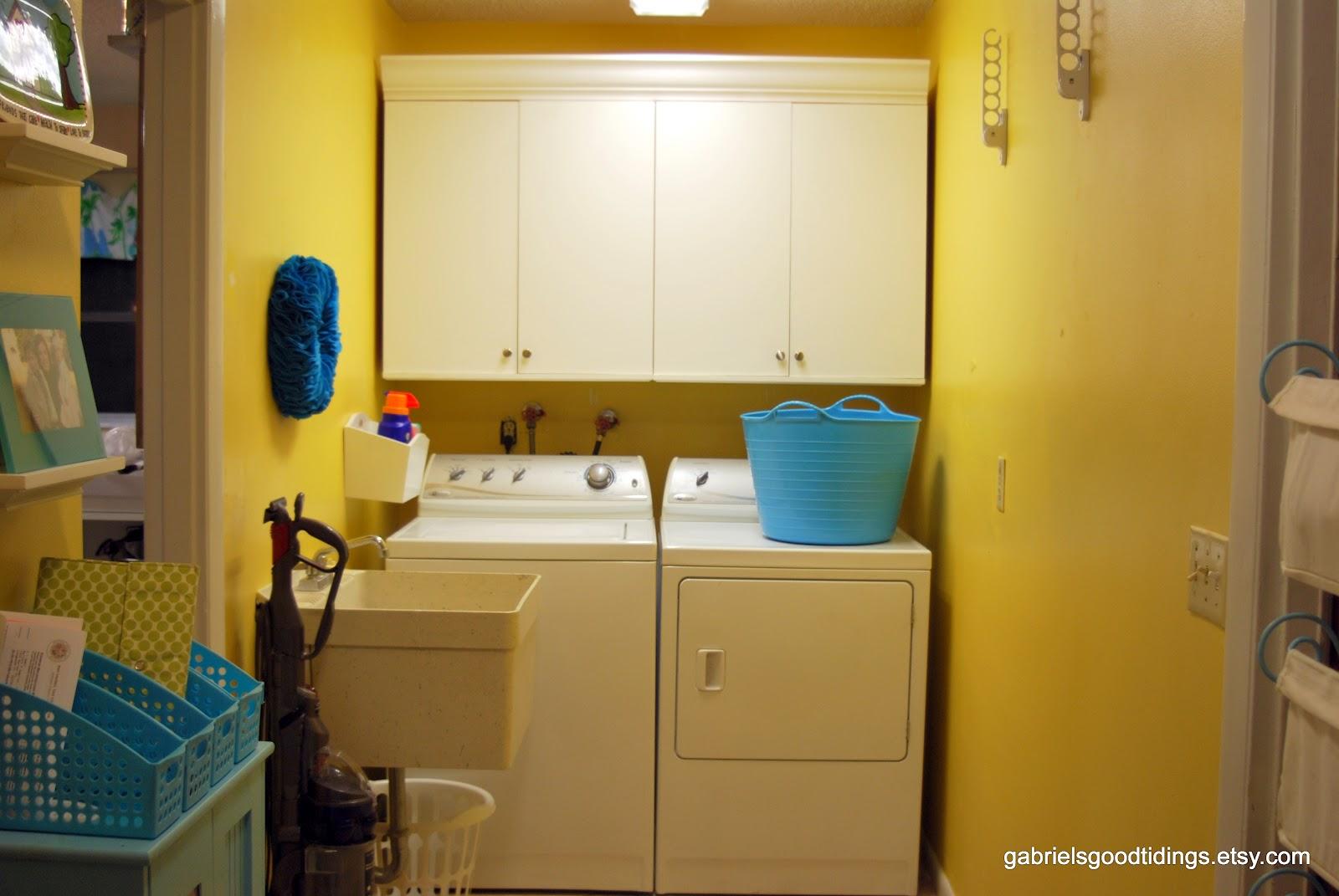 Cabinets Laundry Room Organization