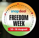 Snapdeal-freedom-week-10-aug-to-16-aug