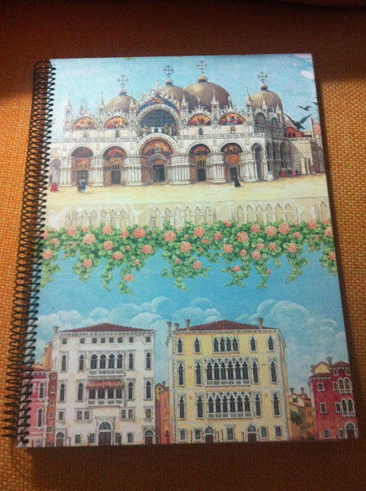 Cuaderno espiral Venecia
