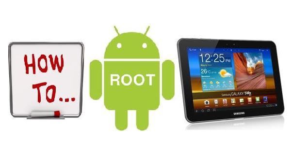 Cara Root Samsung Galaxy Tab 8.9