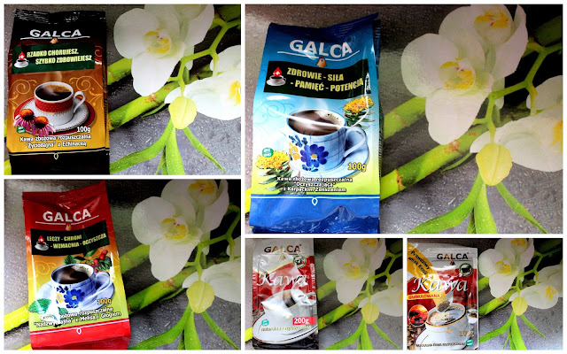 Kawy zbożowe Galca
