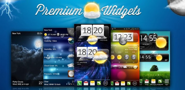Premium Widgets & Weather v1.3.5 APK