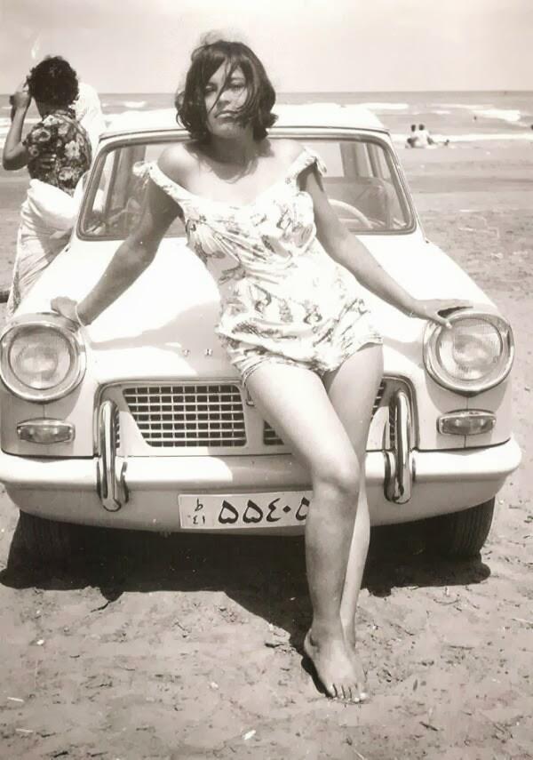 Iranian woman in the era before the Islamic revolution, 1960