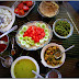 Vegetarian Food delight at bluewhaleecotourism, Cheul, Alibagh, Maharashtra, India