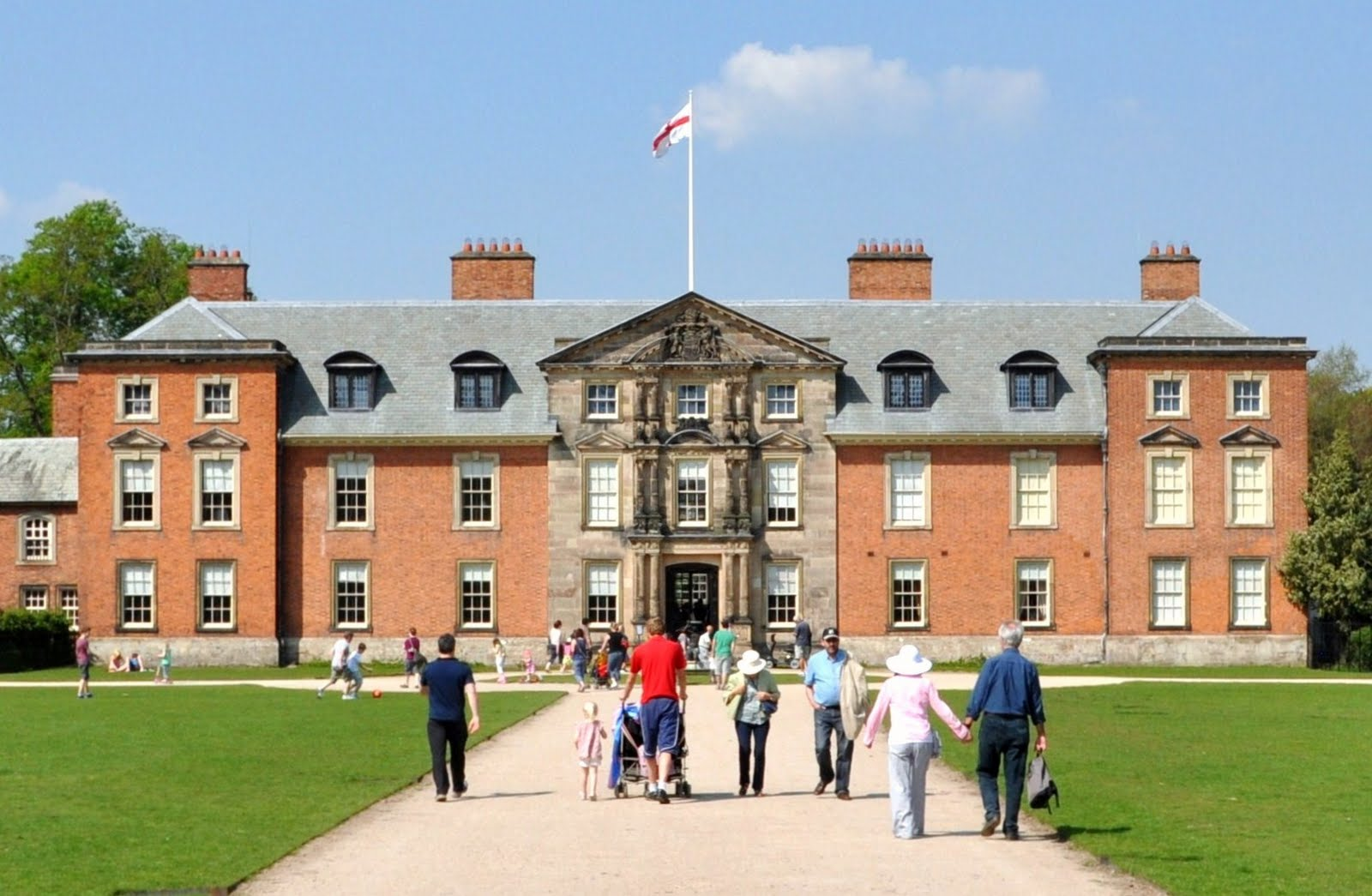rambles with a camera dunham massey the house and