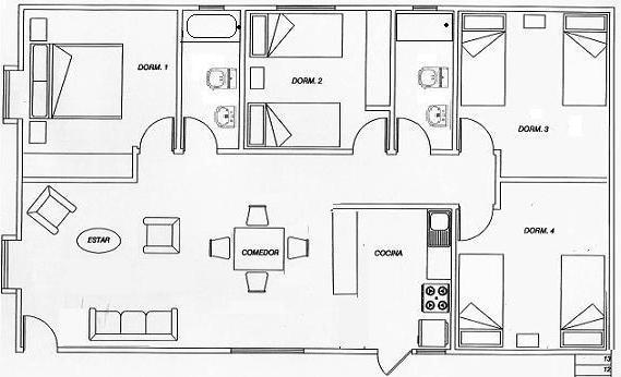 Planos de casas modelos y dise os de casas plano de for Planos de construccion de casas