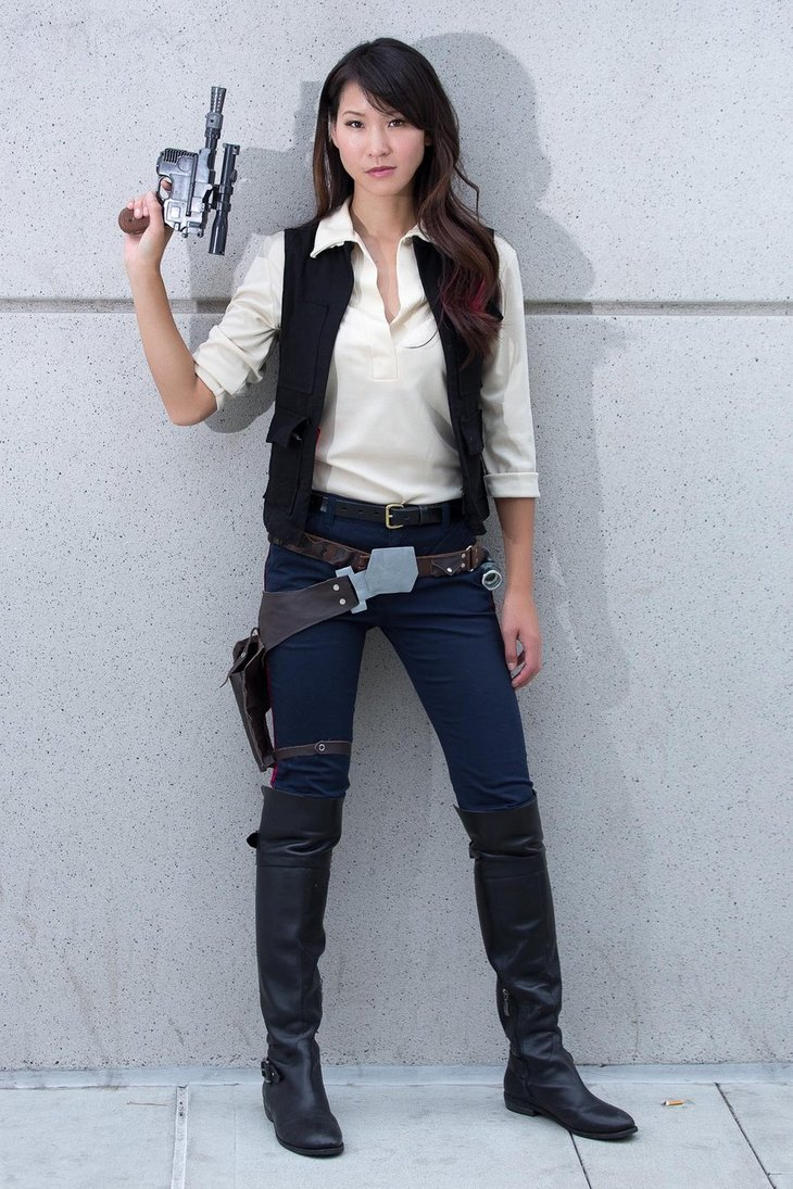 Jedi Mouseketeer Cosplay Friday Han Solo Female Counterpart
