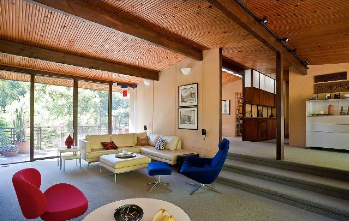Modern Homes Los Angeles Post And Beam Pagoda Zolotow
