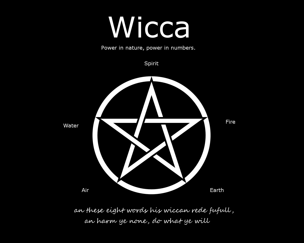 wicca pagan In the still of a cold november evening, a small gathering of pagans, led by two  witches, begins preparations for the coming winter solstice.