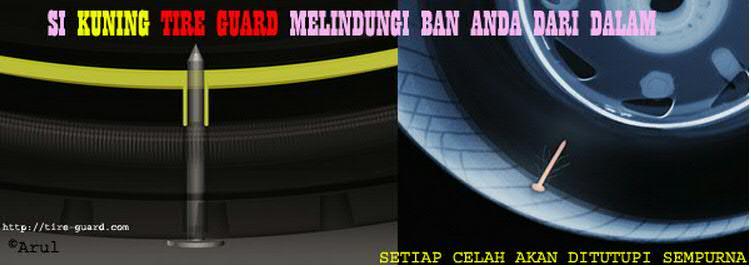 keterangan kelengkapan gambar produk tire guard