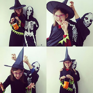 Halloween costumes witch sorcière squelette skeletton kids