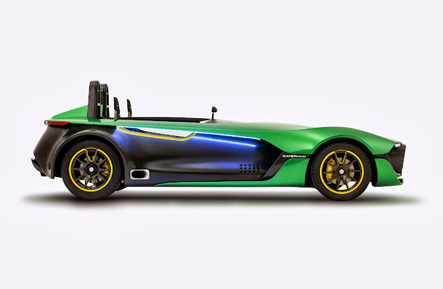 Caterham+Aero+Seven+Profile [Video] Caterham AeroSeven Concept: Lean and Green