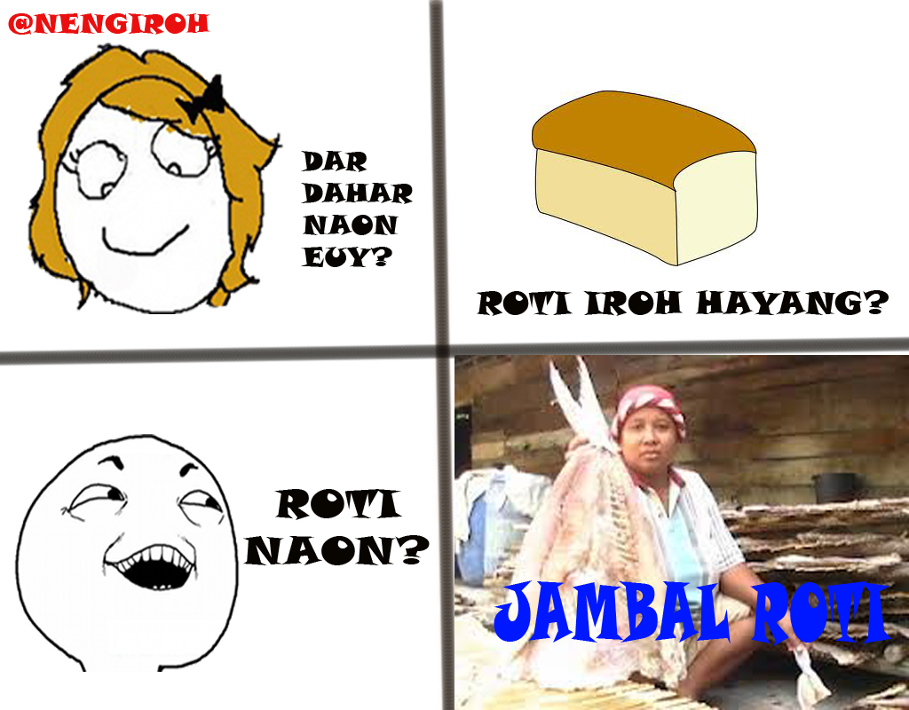 Meme Gambar Lucu Bahasa Sunda Stok Gambar Lucu