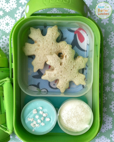 Snowflake yubo bento school lunch