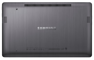 Samsung Series 7 Laptops Back