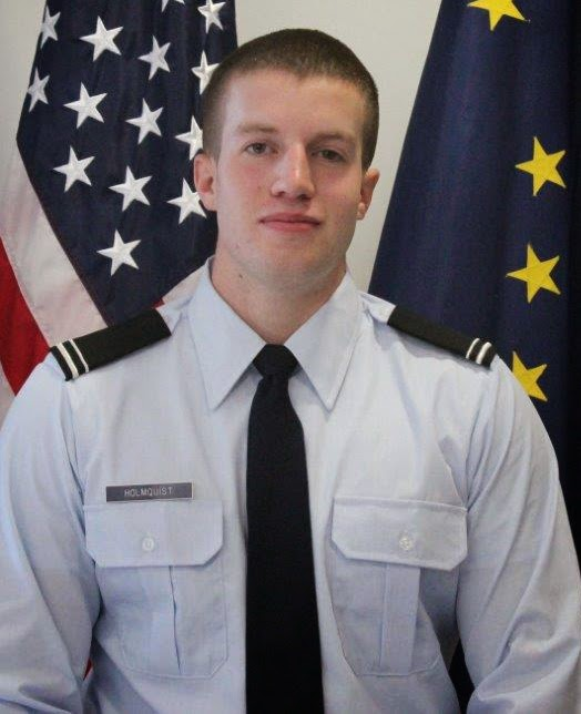 Brandon Holmquist, Air Force ROTC