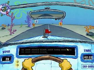 SpongeBob SquarePants Typing Screenshot 2 mf-pcgame.org
